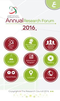 Research Forum 2016 poster