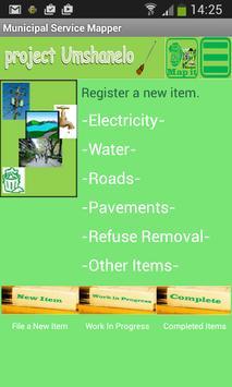 Municipal Service Mapper poster