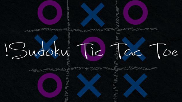 Sudoku Tic Tac Toe! poster