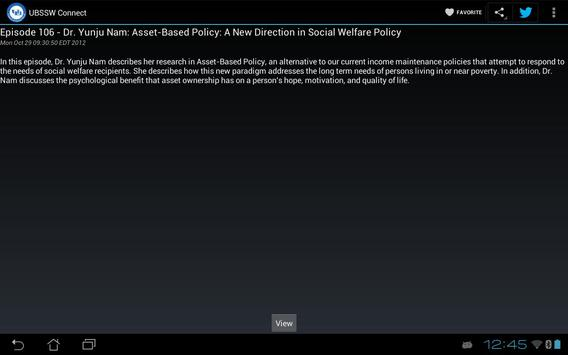 UBSSW Connect apk screenshot