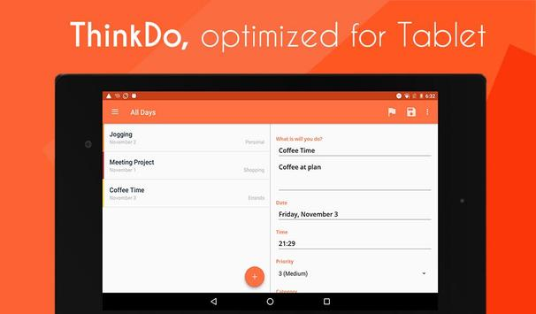 ThinkDo apk screenshot