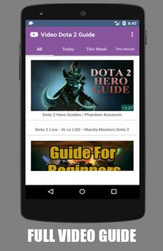 Video - DOTA 2 Guide apk screenshot