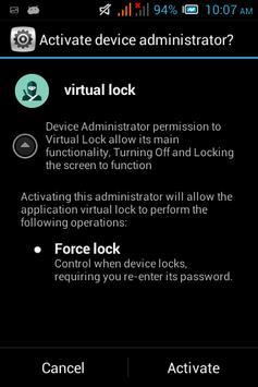 Virtual Lock Mini screenshot 4