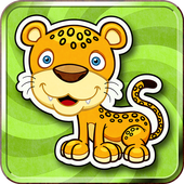 Kids Memory Match Animals Game icon
