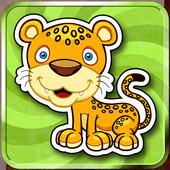 Kids Memory Match Animals Game icon