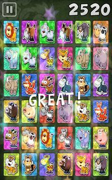 Kids Memory Match Animals Game apk screenshot