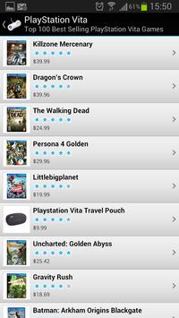 Best Selling Video Games apk screenshot