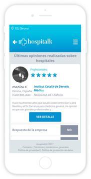 Hospitalk - Cúrate en salud screenshot 5