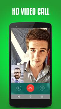 Video call for whatsapp prank poster