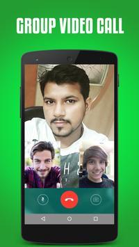 Video call for whatsapp prank apk screenshot