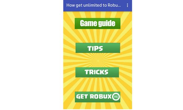 Daily Free Robux And Rewards Guide Apk App Descarga Gratis - saints roblox song id robux for free without downloading apps