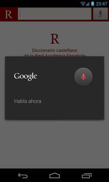 RAE Dictionary apk screenshot
