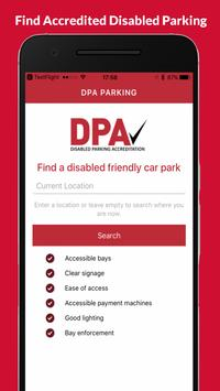 DPA Parking poster