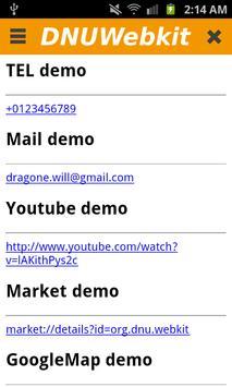 DNUWebkit screenshot 1
