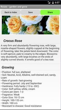 Roses - garden and grow screenshot 12