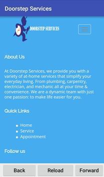 Doorstep Services poster