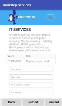 Doorstep Services screenshot 2