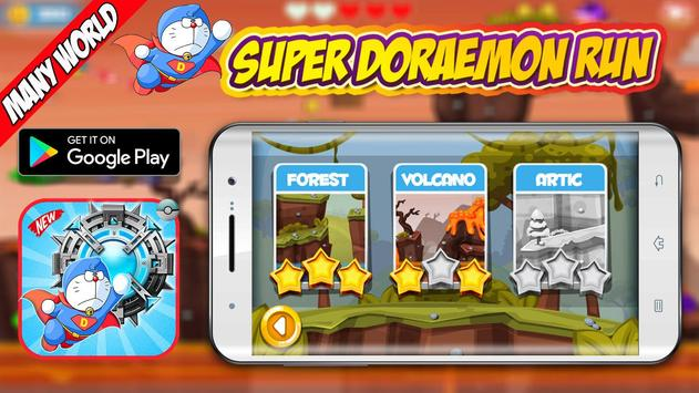 Super Adventure of Doramon  Castle Run poster
