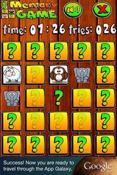 aniMemory Animated Memory Game apk screenshot