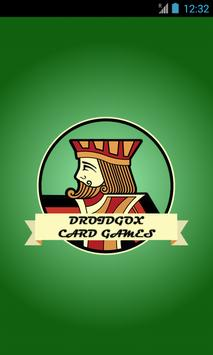 DroidGOX Solitaire Card Games poster