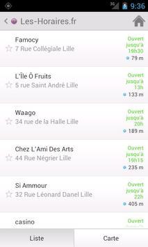 Les-Horaires apk screenshot