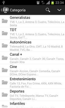 Guia TV screenshot 1