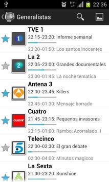 Guia TV screenshot 2