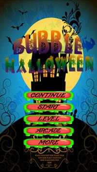 Bubble Halloween poster