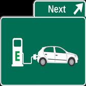 전기자동차 충전소 위치 icon