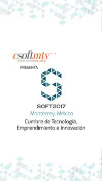 SOFT2017 by Eventto poster