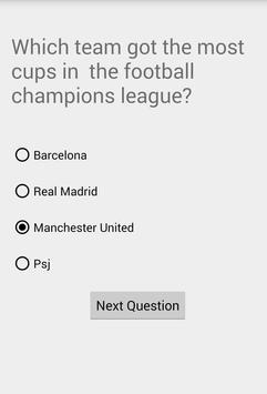 Sport Quiz screenshot 1