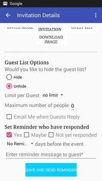 Send Invitation Card With Rsvp Apk App Free Download For
