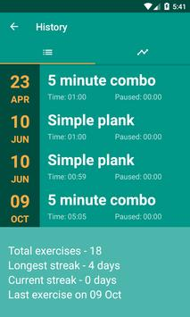 Plank Timer تصوير الشاشة 3