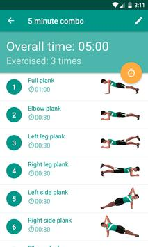 Plank Timer تصوير الشاشة 1