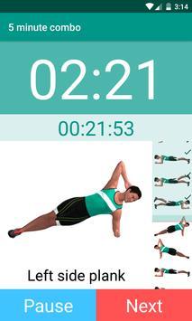 Plank Timer تصوير الشاشة 4