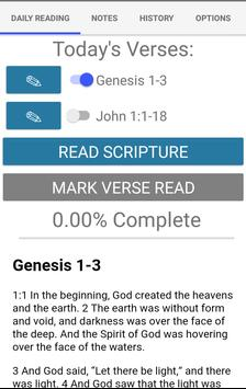 Bible Unity Reading Plan apk screenshot