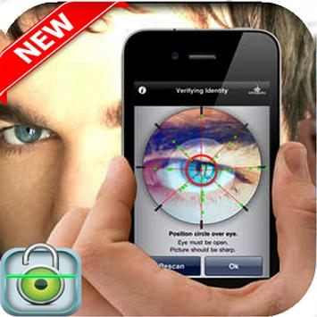 eye scanner app_locker Simulate prank screenshot 3