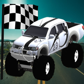 Monster Car Rally Racing icon