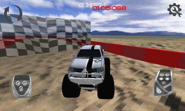 Monster Car Rally Racing apk screenshot