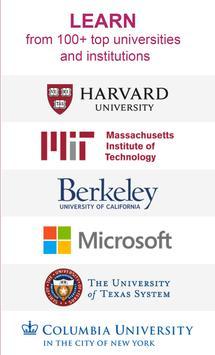 edX - Aplikasi Pendidikan - Kursus online MOOC poster