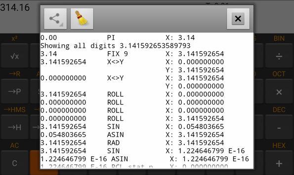 RpnCalc скриншот 3