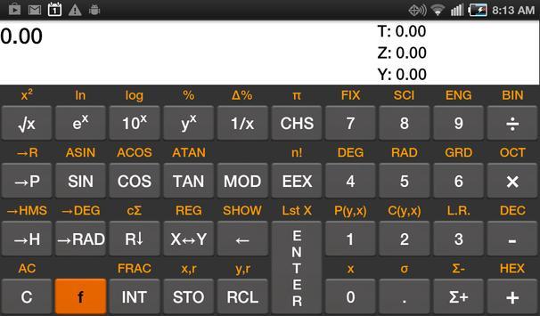 RpnCalc Financial beta screenshot 4