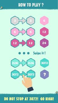 Love 3072 - Newest version of 2048 screenshot 1
