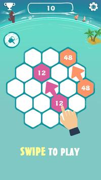 Love 3072 - Newest version of 2048 screenshot 2