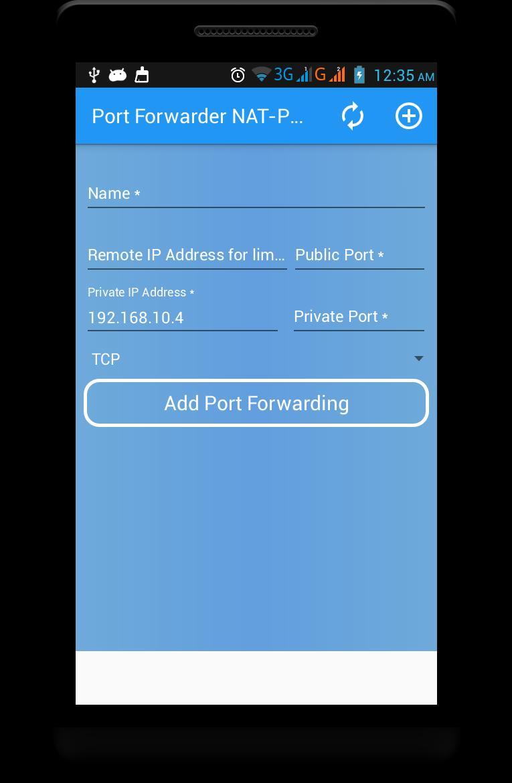 Port Forwarder NAT-PMP for Android - APK Download