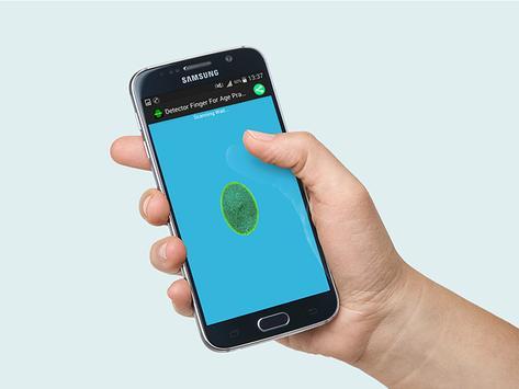 Detector Finger For Age Prank poster