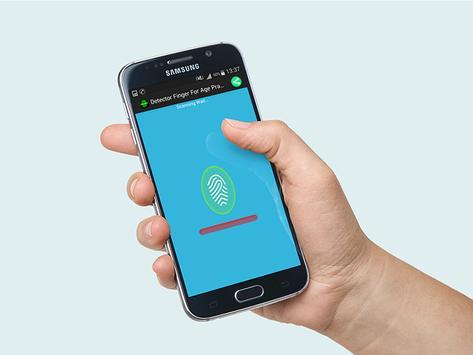 Detector Finger For Age Prank apk screenshot
