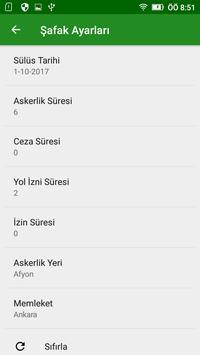 Şafak Hesapla apk screenshot