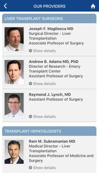 Emory Liver Transplant screenshot 2