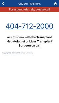 Emory Liver Transplant screenshot 7